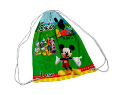 Mochilinha Personalizada Casa do Mickey Mouse
