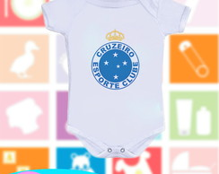 Body infantil Time Cruzeiro