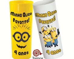 Copos Long Drinks Minions