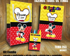 Kits Combo Educativo Colorir (Revista Pequena)