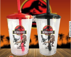 Copo twister Jurassic Park - 500 ml