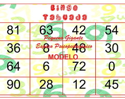 Bingo Silabico No Elo7 Pequeno Gigante Espaco Psicopedagogico