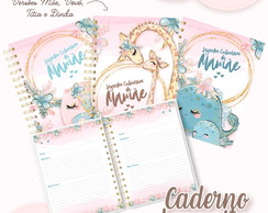 Caderno de Receitas Dia das Mães Cute - Kit Digital