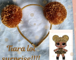 Tiara lol Surprise Dourada (Queen Bee)