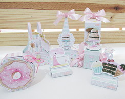 Kit Patisserie; confeitaria candy color