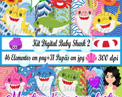 Kit Digital Baby Shark 2
