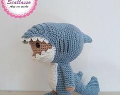 Molde Baby Shark em Feltro - Faça Você Mesmo | Trabalhos manuais ... | 194x244