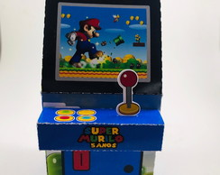 Caixa Fliperama Super Mario World