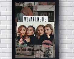 Quadro Poster Decorativo Little Mix