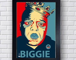 Quadro Decorativo Pintura Biggie Small
