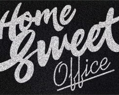 Tapete Capacho Divertido Home Sweet Office