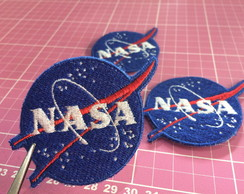 PATCH BORDADO NASA TERMOCOLANTE