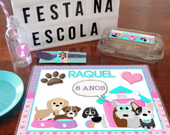 Kit Festa Escolar CACHORRINHOS
