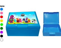 Kit 30 Caixas Box Coloridas Discovery Kids