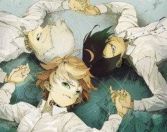 Big Poster Anime The Promised Neverland LO01 90x60 cm