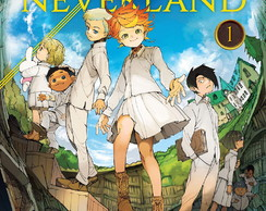 Big Poster Anime The Promised Neverland LO03 90x60 cm