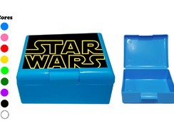 Kit 30 Caixas Box Coloridas Star Wars
