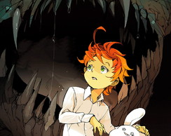 Big Poster Anime The Promised Neverland LO09 90x60 cm