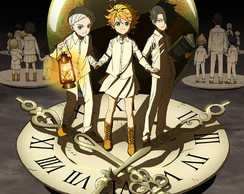 Big Poster Anime The Promised Neverland LO16 90x60 cm