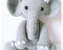 Amigurumi Pattern: The hippopotamus Melman and his friend Pi ... | 194x244