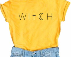 Camiseta Witch (Mostarda)