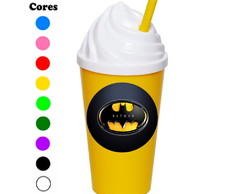 Kit 30 Copos Chantilly 350 ml Batman