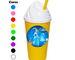 Kit 30 Copos Chantilly 350 ml Cinderella