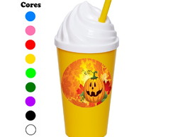 Kit 30 Copos Chantilly 350 ml Halloween