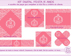 Kit Digital Festa 15 anos