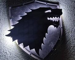 Luminaria Game of thrones - casa Stark
