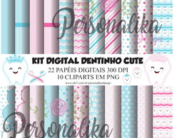 KIT DIGITAL DENTINHO CUTE