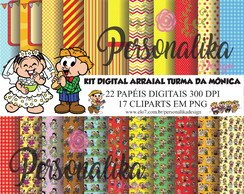 KIT DIGITAL ARRAIAL DA TURMA DA MÔNICA
