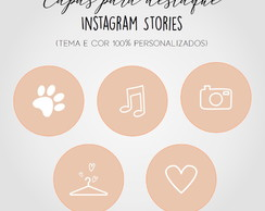 Capas para Instagram Stories Personalizadas