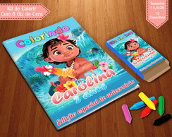 Kit de Colorir - Moana Baby