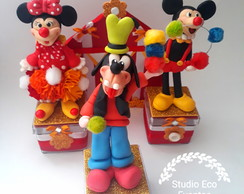 Enfeites circo do mickey