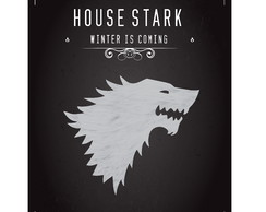 Poster Game of Thrones - House Stark