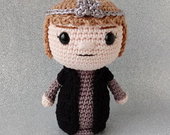 Amigurumi Cersei Lannister Boneca Game of Thrones