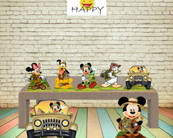 KIT MICKEY SAFARI DISPLAY MDF