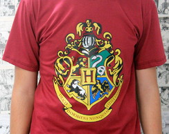 "Camiseta Harry Potter ""Brasão Hogwarts"""