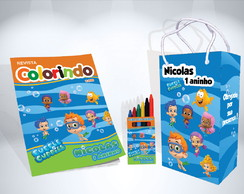 Kit de Colorir Bubble Guppies Lembrança + Brindes