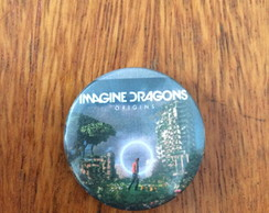 Botton/broche Imagine Dragons origins