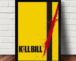 Quadro Decorativo Kill Bill
