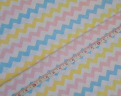 Tricoline - Chevron Candy Color