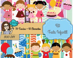 Kit Digital | Festa Infantil