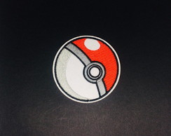 Patch Bordado Pokebola adesivos Termo Colantes