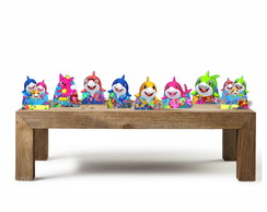 Baby Shark KIT com 8 Displays de mesa