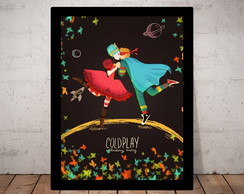 Quadro Poster Coldplay