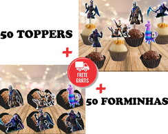fortnite - 50 toppers + 50 forminhas