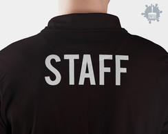 Camisa camiseta Polo Uniforme STAFF