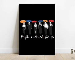 Quadro decorativo placa mdf Friends G456